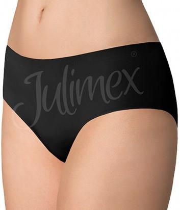Бесшовные трусики слипы Julimex Simple черные