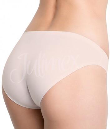 Классические трусики Julimex Cotton Hi-cut телесные