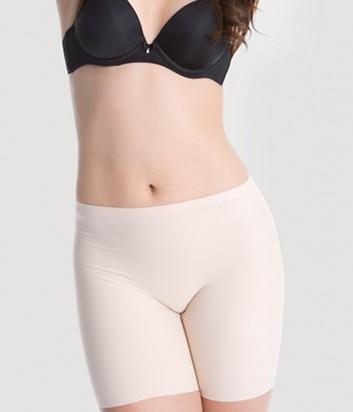 Бесшовной удлиненные шортики Julimex Comfort телесные