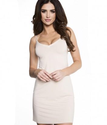 Гладкая комбинация под платье Julimex Soft&Smooth телесная