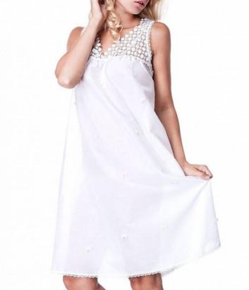 Хлопковая сорочка Suavite Валери белая