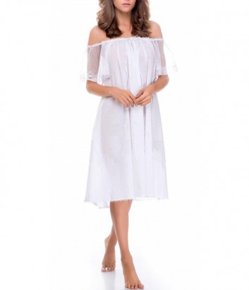Ночная рубашка Suavite Корин белая