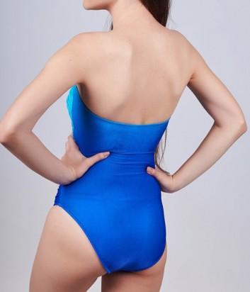 Цельный купальник Roidal Nadia сине-голубой