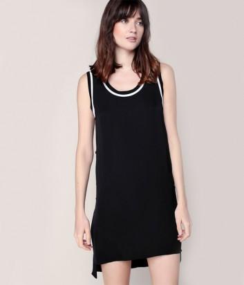 Шёлковое платье-туника Karl Lagerfeld с пуговичками по бокам