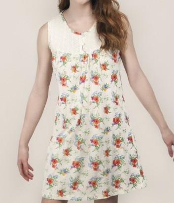 Хлопковое платье Gisela 31503 с цветочным принтом