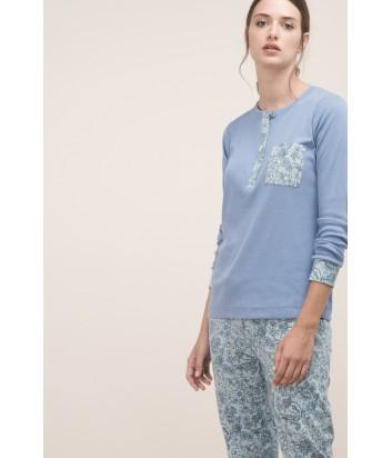 Женская пижама Gisela 21459 голубая