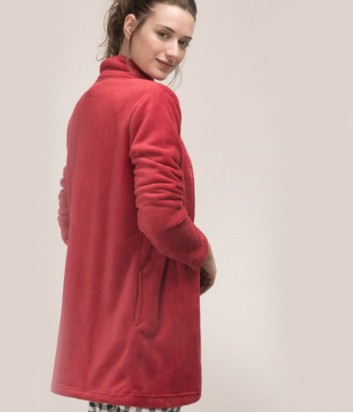 Махровый жакет-халат Gisela 21483 красный