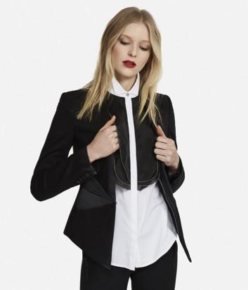 Женский пиджак Karl Lagerfeld IKONIK PUNTO черный