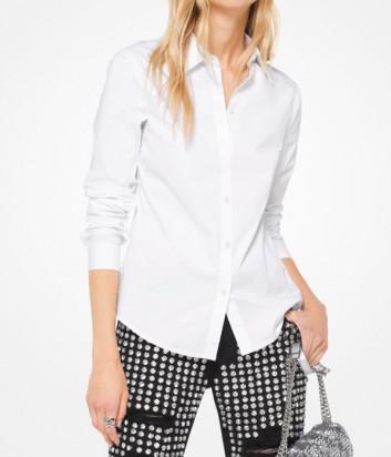 Женская рубашка Michael Kors приталенного кроя белая