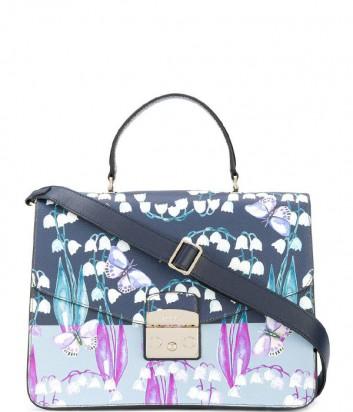 Большая сумка Furla Metropolis 962760 с цветочным принтом