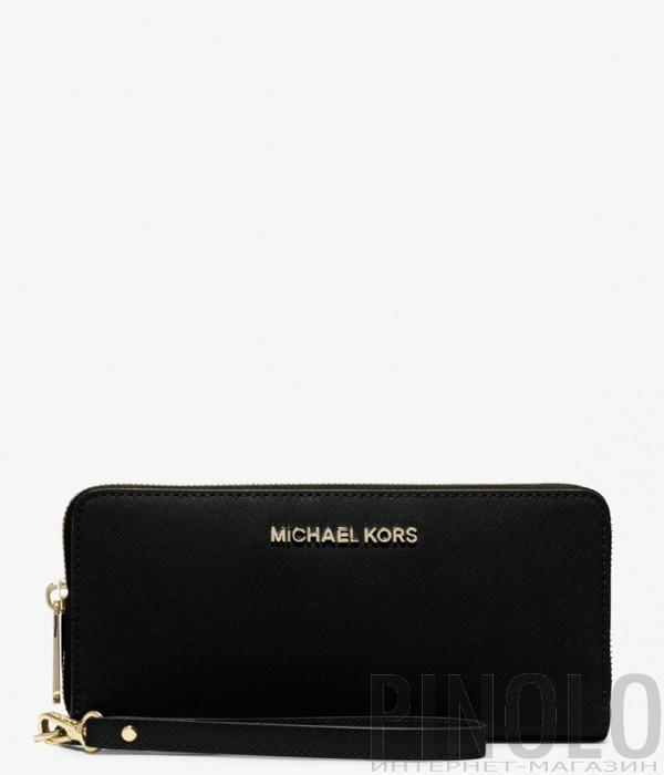 6a1ab1d17b68 Портмоне на молнии Karl Lagerfeld 86KW3210 в гладкой коже красное - купить  в Интернет-магазине PINOLO