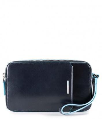 Многофункциональная барсетка-портмоне Piquadro Blue Square AC4221B2 синяя