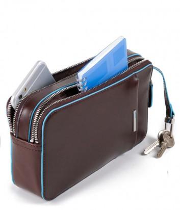 Многофункциональная барсетка-портмоне Piquadro Blue Square AC4221B2 черная
