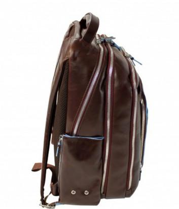 Кожаный рюкзак Piquadro Blue Square CA1813B2 с отделением для ноутбука коричневый