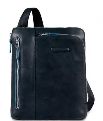 Кожаная сумка через плечо Piquadro Blue Square CA1816B2 синяя