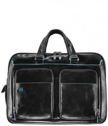 Портфель-сумка Piquadro CA2765B2 с внешними карманами черный