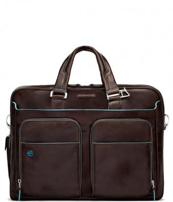 Портфель-сумка Piquadro CA2765B2 с внешними карманами коричневый