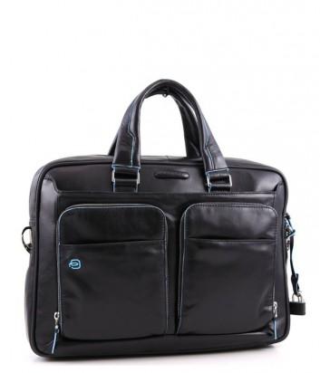 Кожаный портфель-сумка Piquadro Blue Square CA2849B2 черный