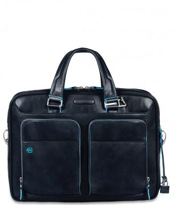 Кожаный портфель-сумка Piquadro Blue Square CA2849B2 синий