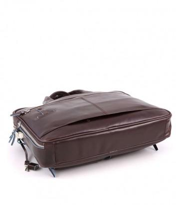 Кожаный портфель-сумка Piquadro Blue Square CA2849B2 коричневый