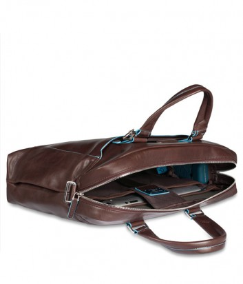 Портфель-сумка Piquadro Blue Square CA3335B2 с отд. для ноутбука коричневый