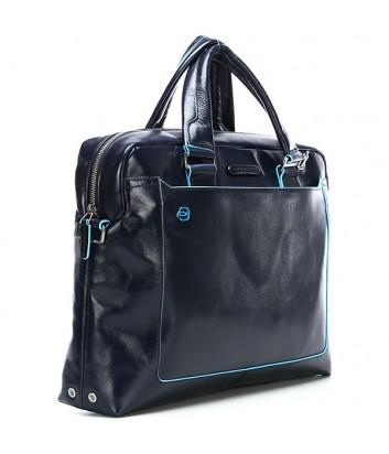 Портфель-сумка Piquadro Blue Square CA3335B2 с отд. для ноутбука синий