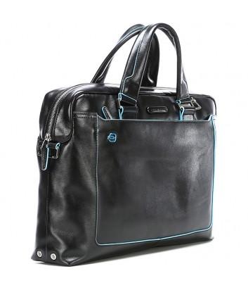 Портфель-сумка Piquadro Blue Square CA3335B2 с отд. для ноутбука черный