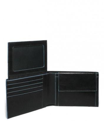 Портмоне Piquadro Blue Square PU1392B2 с отделением для документов черное