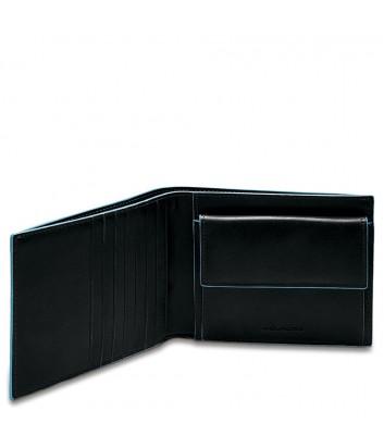 Кожаное портмоне Piquadro Blue Square PU1239B2R черное