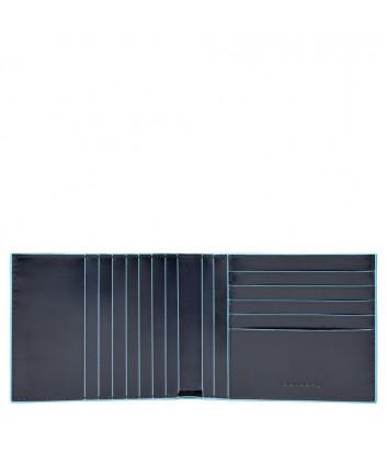 Кожаное портмоне Piquadro Blue Square PU1241B2R синее