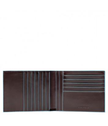 Кожаное портмоне Piquadro Blue Square PU1241B2R коричневое
