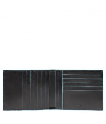 Кожаное портмоне Piquadro Blue Square PU1241B2R черное
