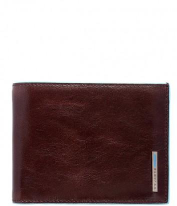 Кожаное портмоне Piquadro Blue Square PU1240B2 коричневое