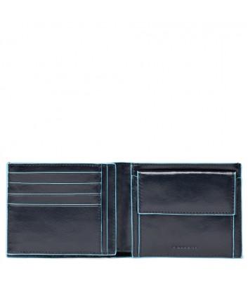 Кожаное портмоне Piquadro Blue Square PU1240B2 синее