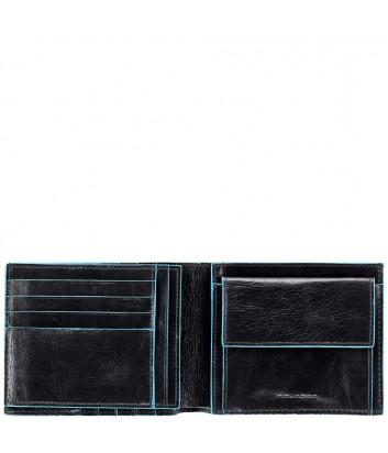 Кожаное портмоне Piquadro Blue Square PU1240B2 черное
