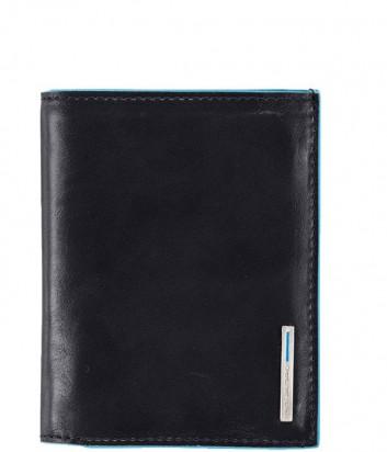Кожаное портмоне Piquadro Blue Square PU1740B2 черное