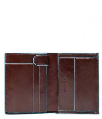 Кожаное портмоне Piquadro Blue Square PU1740B2 коричневое