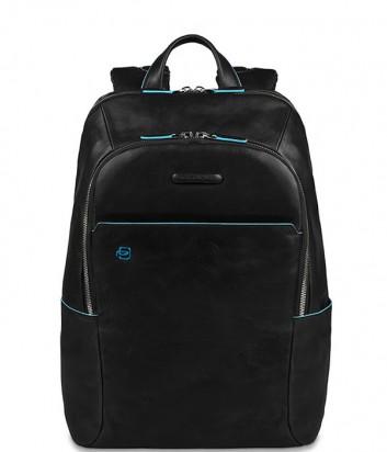 Кожаный рюкзак Piquadro Blue Square CA3214B2 черный