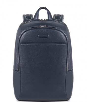 Кожаный рюкзак Piquadro Modus CA3214MO с отделением для ноутбука синий