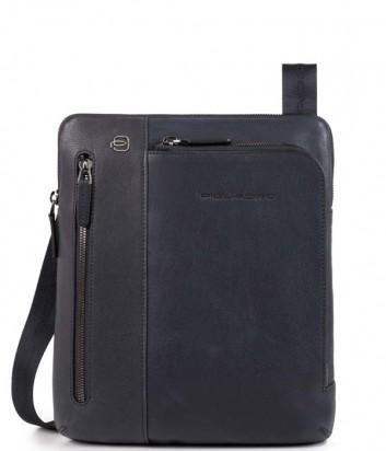 Кожаная сумка через плечо Piquadro Blue Square CA1816B3 синяя