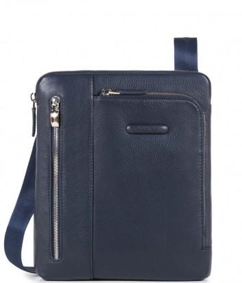 Кожаная сумка через плечо Piquadro Modus CA1816MO синяя