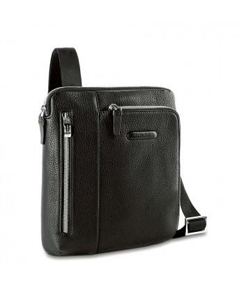 Кожаная сумка через плечо Piquadro Modus CA1816MO черная
