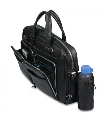 Кожаный портфель-сумка Piquadro Modus CA2849MO синий