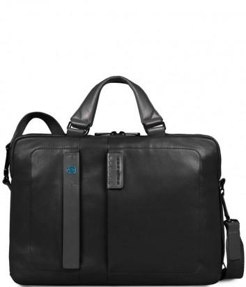 Кожаная сумка Piquadro Pulse CA1903P15 черная