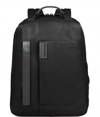 Кожаный рюкзак Piquadro Pulse CA3349P15 черный