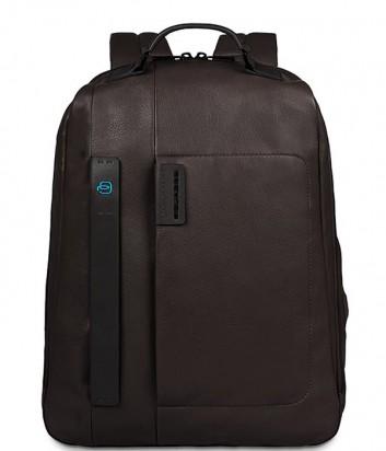 Кожаный рюкзак Piquadro Pulse CA3349P15 коричневый