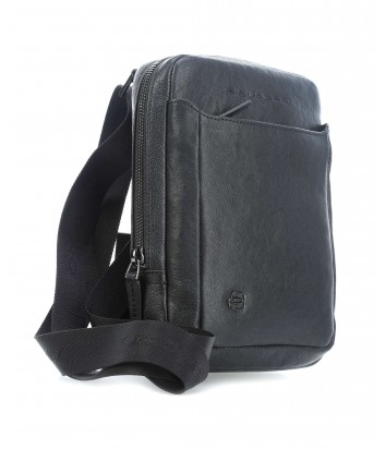 Кожаная сумка через плечо Piquadro Black Square CA3084B3 черная