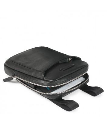 Кожаная сумка через плечо Piquadro Modus CA3084MO черная