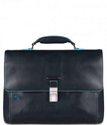 Кожаный портфель Piquadro Blue Square CA3111B2 синий