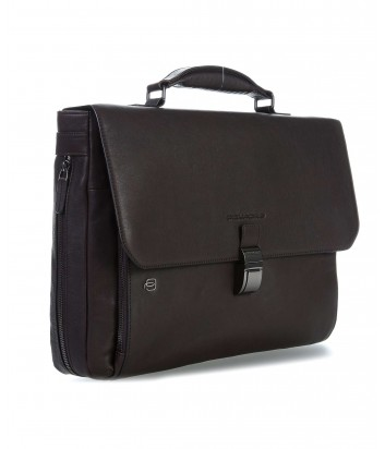Кожаный портфель Piquadro Black Square CA3111B3 коричневый